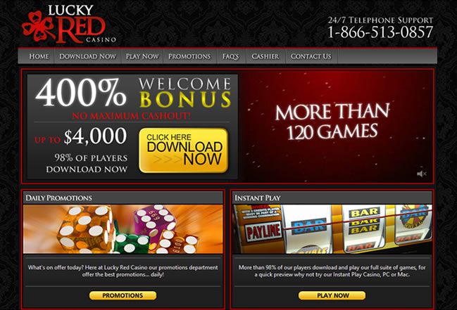 Lucky Red Casino Review – Find out if it Pays to be Lucky